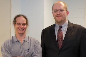 Dr. Landon Bellavia with Prof Shapiro