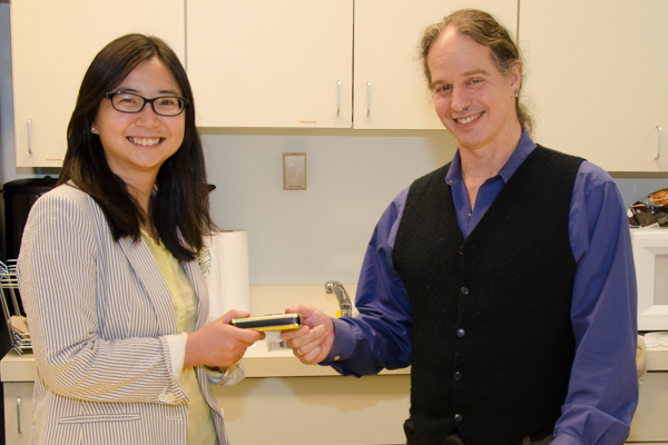 Dr. Xiaohua Liu with Prof Shapiro